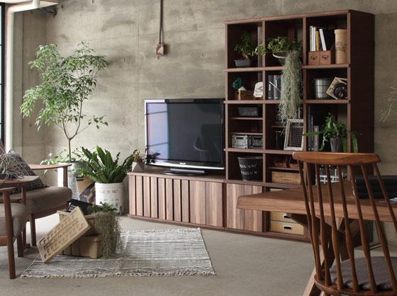 カリモク家具セルタス・ユニットシェルフ
