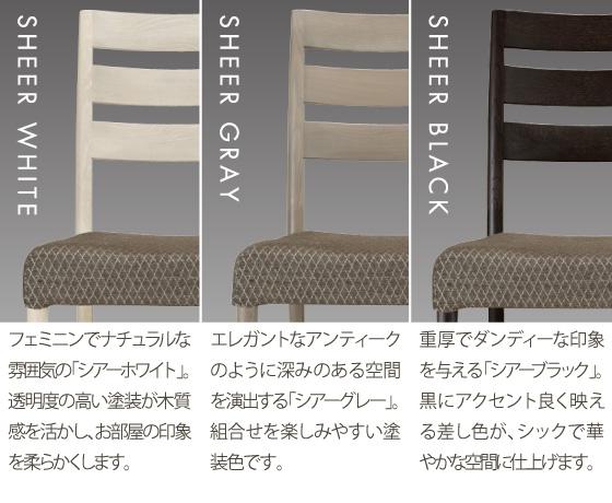 カリモク家具のシアーセレクト説明